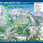 Ken Jones route Frontside Map